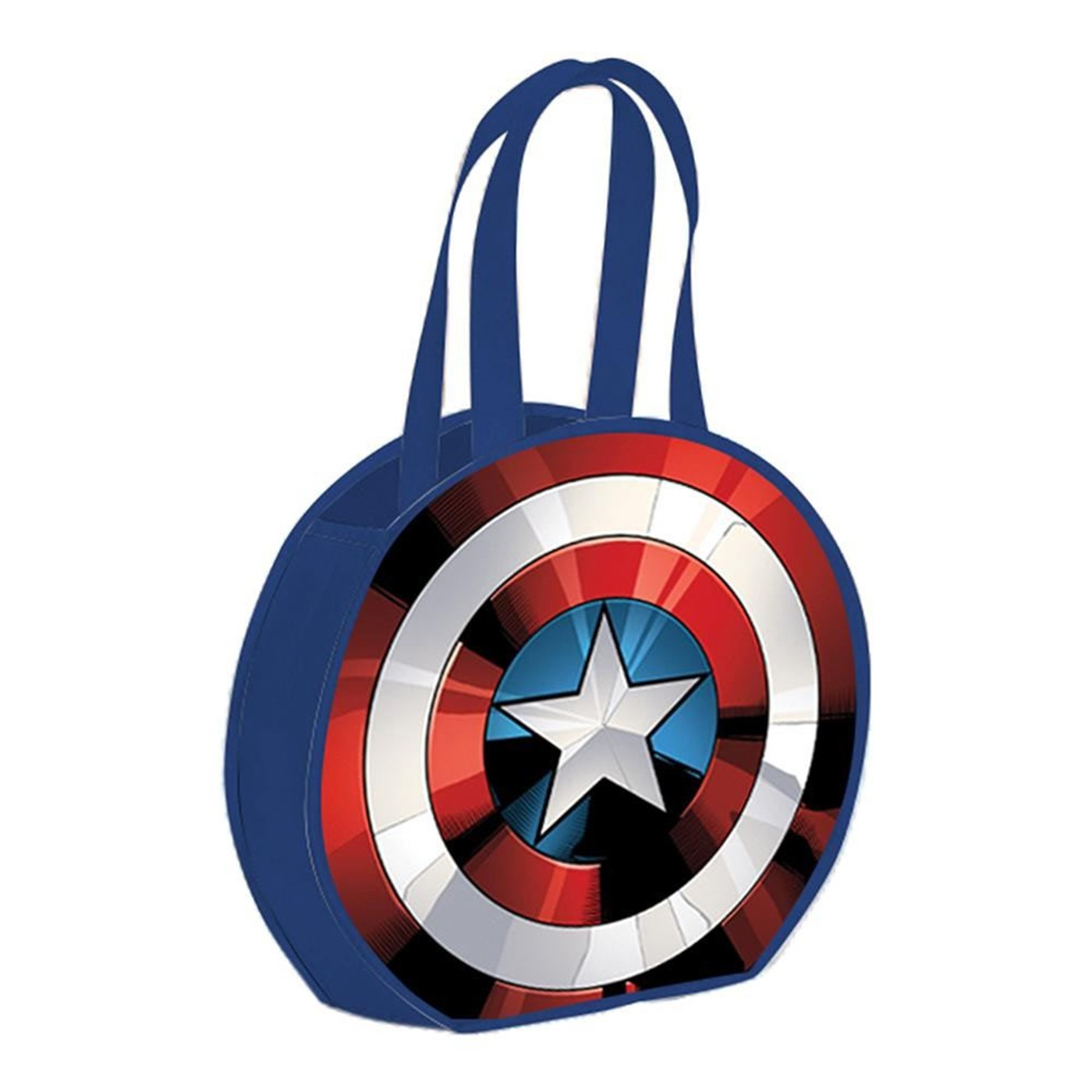 Marvel Captain America Shield Round Recycled Shopper Tote