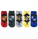 Harry Potter Ladies Ankle Socks 5-Pack