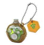 Monster Hunter Mascot Plus Palico Potion Keychain