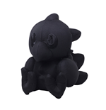 Final Fantasy Autograph Plush Figure Chocobo Black Ver. 16 cm