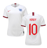 2019-2020 England Home Nike Womens Shirt (Kirby 10)