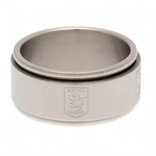 Aston Villa FC Spinner Ring Small