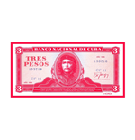 Che Guevara Patch Tres Pesos (PATCH)