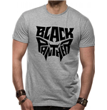 Black Panther Movie - Text Logo - Unisex T-shirt Grey