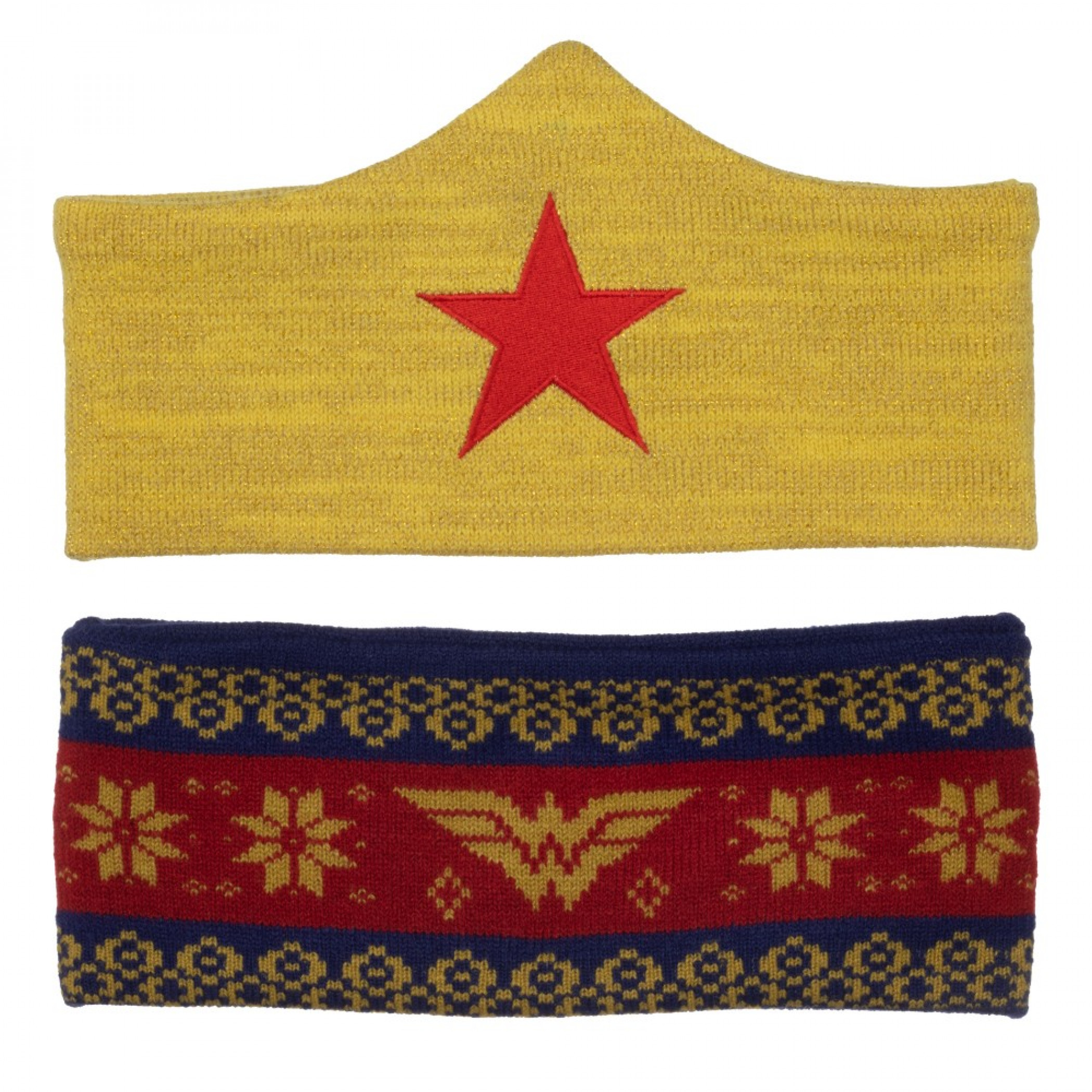 Wonder Woman Headband Combo