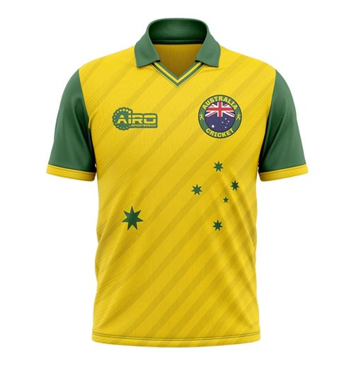 2019-2020 Australia Cricket Concept Shirt - Adult Long Sleeve