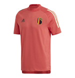 2020-2021 Belgium Adidas Training Tee (Red)