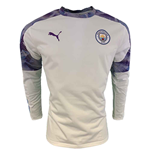 2019-2020 Manchester City Puma Rain Top (White)
