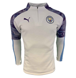 2019-2020 Manchester City Puma Training Fleece (White)