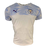2019-2020 Manchester City Puma Casuals Tee (White)