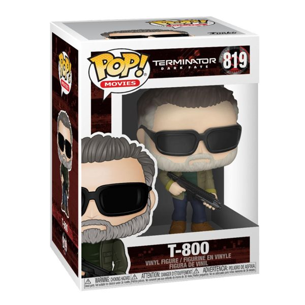 Terminator: Dark Fate POP! Movies Vinyl Figure T-800 9 cm