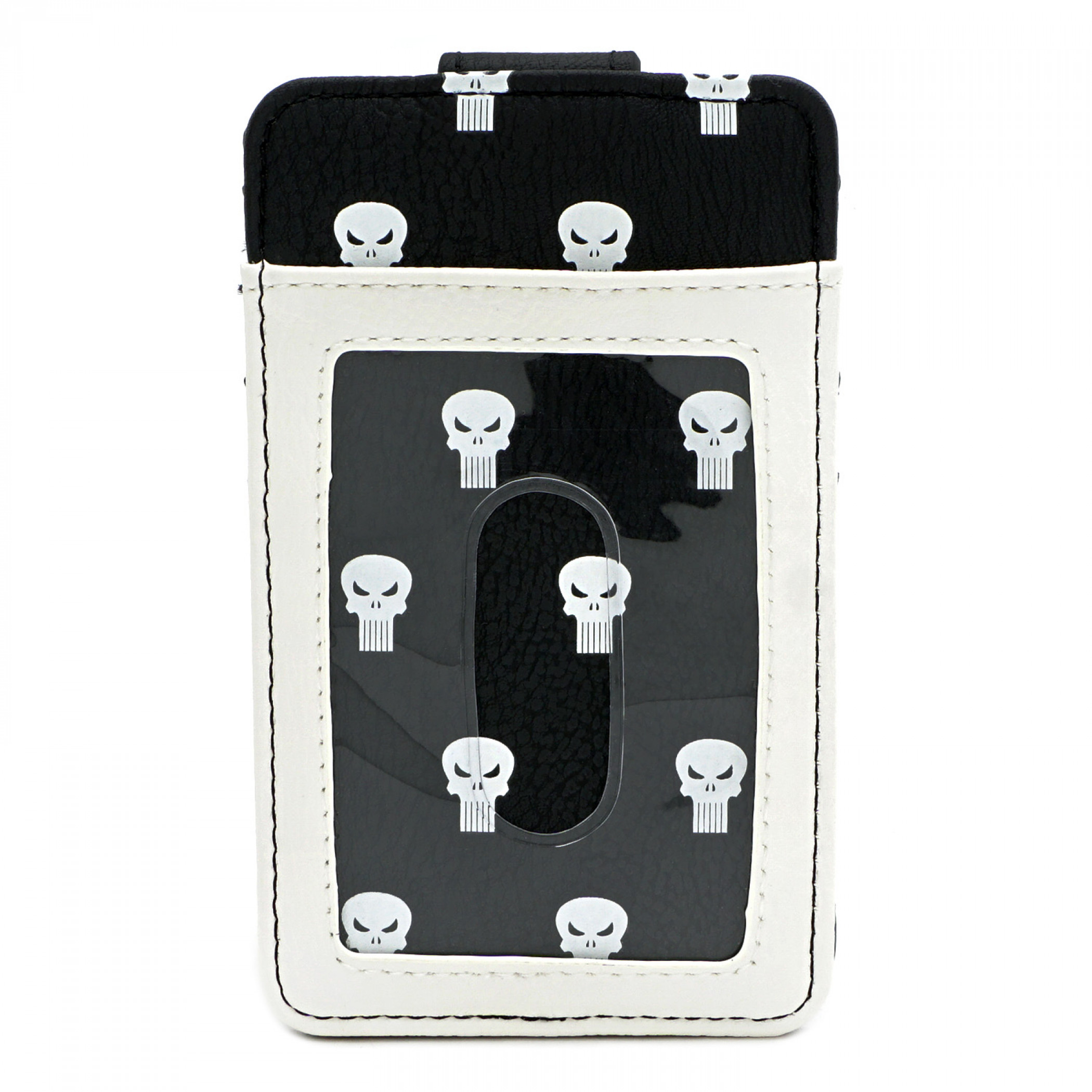 Punisher All Over Print Faux Leather Wallet
