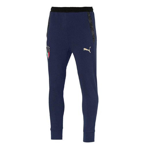 2019-2020 Italy Puma Casuals Sweat Pants (Peacot)