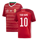 2020-2021 Hungary Home Adidas Football Shirt (Kids) (Your Name)