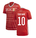 2020-2021 Hungary Home Adidas Football Shirt (Your Name)