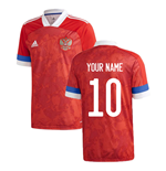 2020-2021 Russia Home Adidas Football Shirt (Your Name)