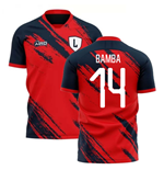 2019-2020 Lille Home Concept Football Shirt (BAMBA 14)