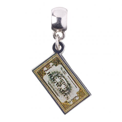 Harry Potter Silver Plated Charm Ticket