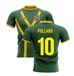 2019-20 South Africa Springboks Flag Concept Rugby Shirt (Pollard 10)
