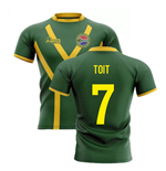 2019-20 South Africa Springboks Flag Concept Rugby Shirt (Toit 7)