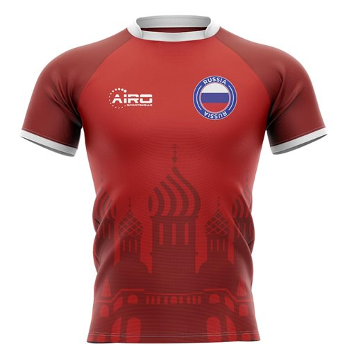 2019-2020 Russia Home Concept Rugby Shirt