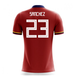2018-2019 Colombia Away Concept Football Shirt (Sanchez 23)