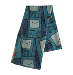 ADVENTURE TIME Beemo All-over Print Fashion Scarf, Unisex, Multi-colour