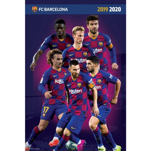 FC Barcelona Poster Players 19