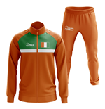 Ivory Coast Concept Football Tracksuit (Orange)