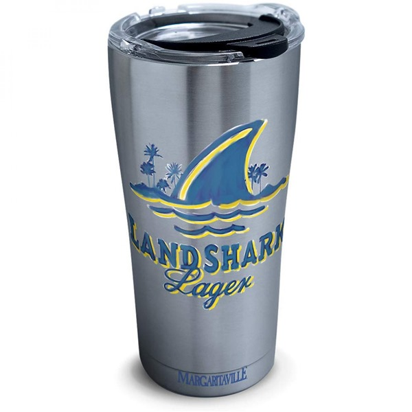 Landshark 20 Ounce Stainless Steel Travel Mug
