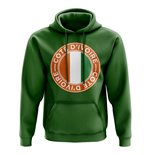 Cote d'Ivoire Football Badge Hoodie (Green)