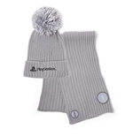 Playstation - Silver Beanie & Scarf Gift Set
