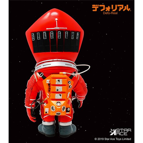 2001 Space Odissey Df Astronaut Red Figure