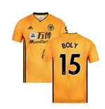 2019-2020 Wolves Home Football Shirt (BOLY 15)