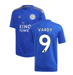 2019-2020 Leicester City Home Football Shirt (Kids) (VARDY 9)