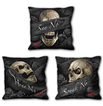 See No Evil - Square Cushion (Set of 3)