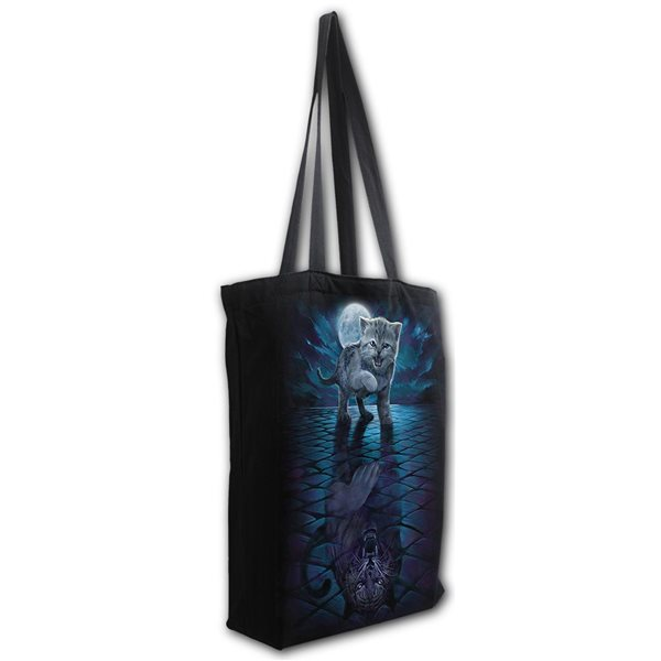 Wild Side - Bag 4 Life - Canvas 80z Long Handle Tote Bag