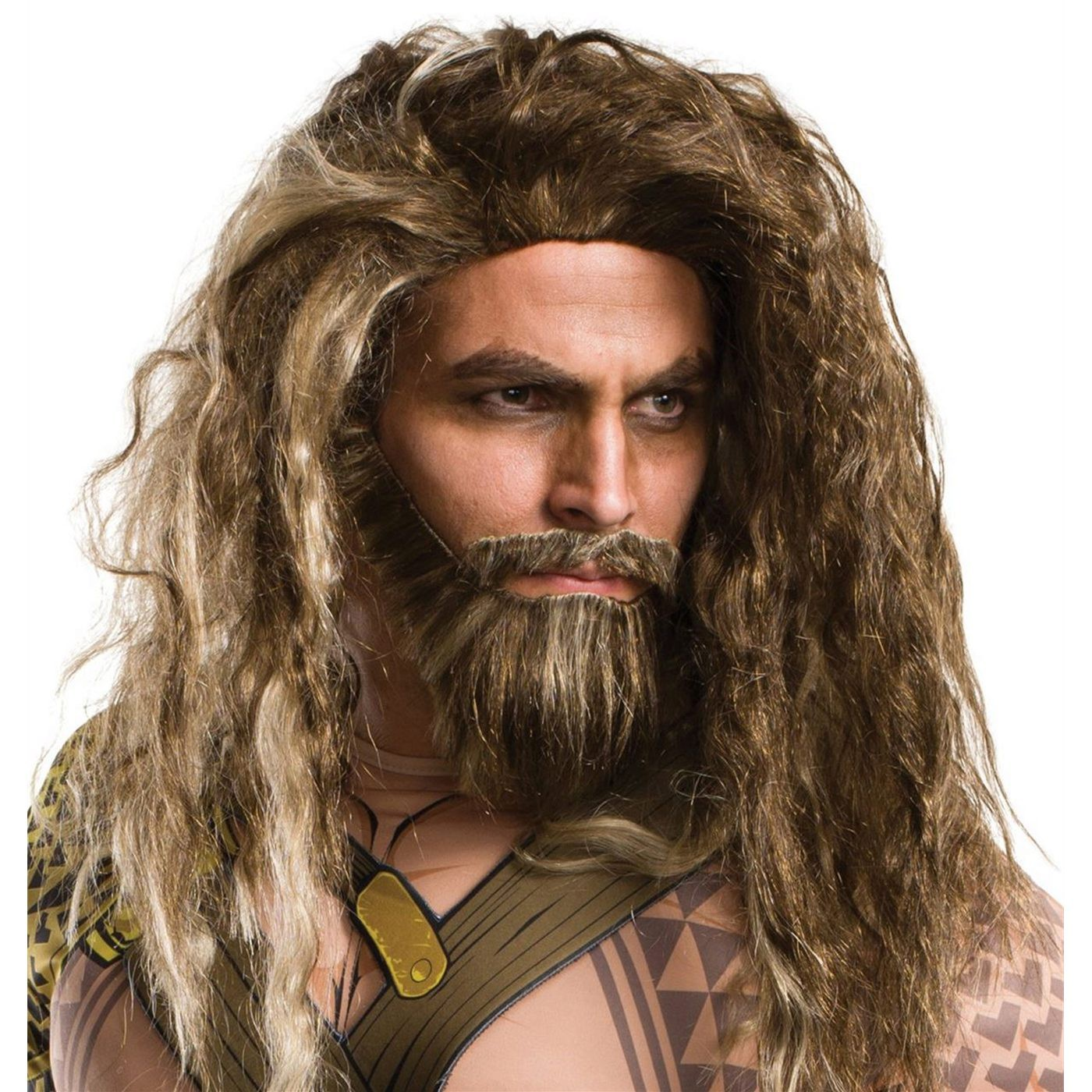 Aquaman Hair and Beard Set