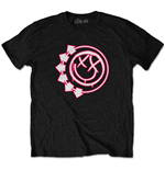 Blink-182 Unisex Tee: Six Arrow Smiley