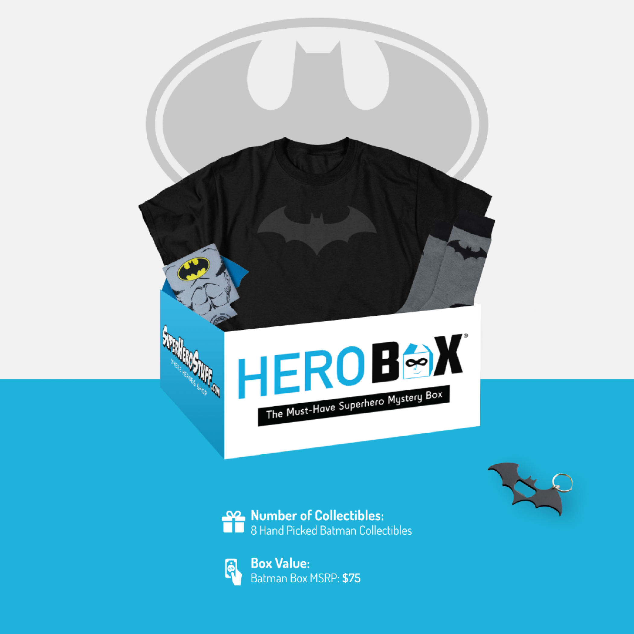 DC Comics Batman HeroBox