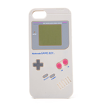 NINTENDO Gameboy Handheld Console Phone Cover for Apple iPhone 5/SE, Grey