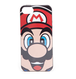NINTENDO Super Mario Bros. Mario Face Phone Cover for Apple iPhone 5/5S, Multi-colour