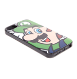 NINTENDO Super Mario Bros. Luigi Face Phone Cover for Apple iPhone 5/5S, Multi-colour