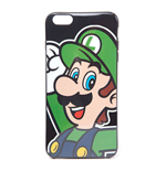 NINTENDO Super Mario Bros. Luigi Face Phone Cover for Apple iPhone 6 Plus, Multi-colour