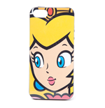 NINTENDO Super Mario Bros. Princess Peach Face Phone Cover for Apple iPhone 5/5S, Multi-colour