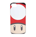 NINTENDO Super Mario Bros. Toad Mushroom Face Phone Cover for Apple iPhone 5/5S, Multi-colour