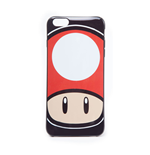 NINTENDO Super Mario Bros. Toad Mushroom Face Phone Cover for Apple iPhone 6 Plus, Multi-colour