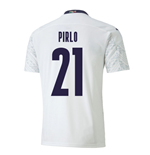2020-2021 Italy Away Puma Football Shirt (Kids) (PIRLO 21)