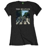 The Beatles: Abbey Road & Logo Women's T-shirt (Retail PACK)