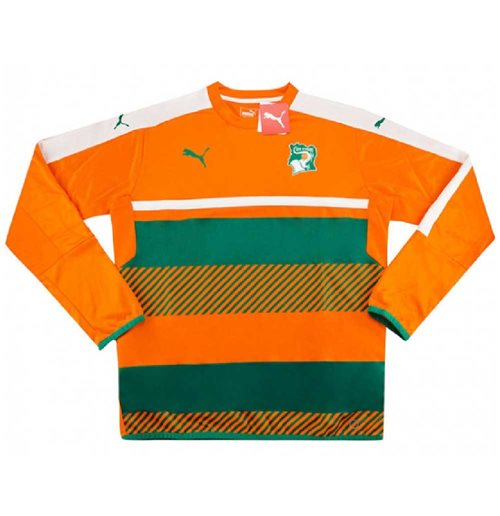 2016-17 Ivory Coast Puma Training Sweat Top